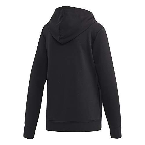 Linear Adidas Negro Mujer Hoodie blanco Essentials RTvzTA