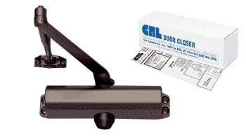 CRL PR80 Bronze Finish Adjustable Spring Power Size 2 to 5 Surface Mount Door (Door Closer Adjustment)