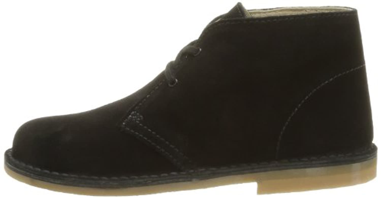 Start-rite Colorado II, Unisex-Kids' Desert Boots, Black (Black Suede), 7 Child UK (24 EU)