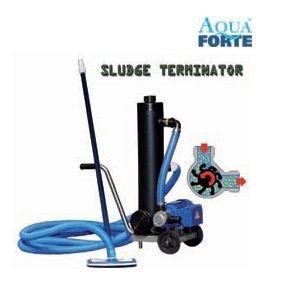 AquaForte Teich-/Poolsauger, schwarz, 186 x 80 x 60 cm, RD450