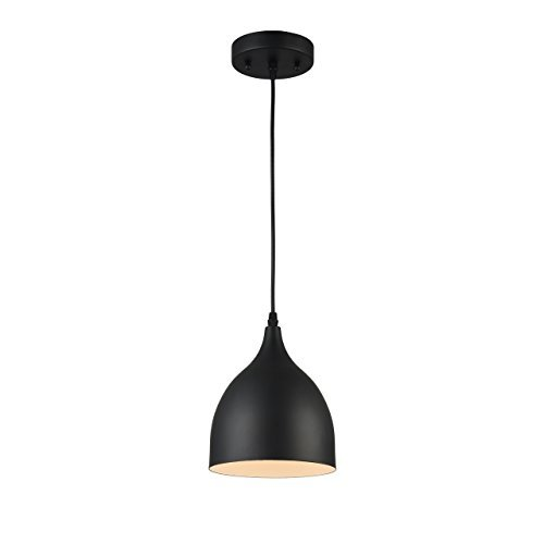 - Chloe Lighting CH58070BK07-DP1 Pendant, One Size, Textured Black