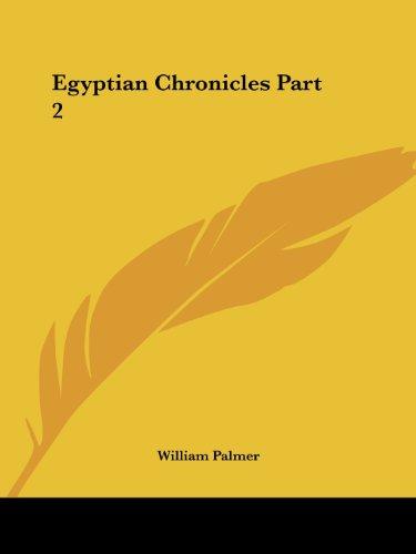 Egyptian Chronicles Part 2