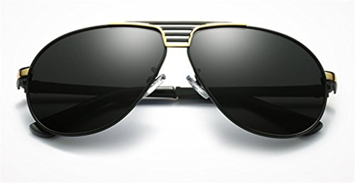 Hombres a de Sol Gafas de UV MOQJ Pilotos de Sol Conducción Gafas Protección Gafas Moda polarizadas para a Deportes Antideslumbrante RawqqtAUx