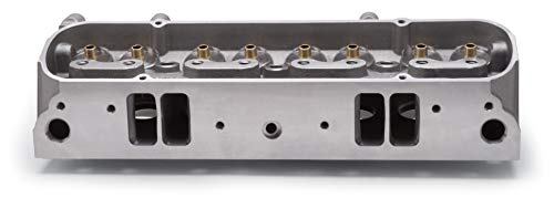 Edelbrock 61589 Performer 72cc Pontiac Cylinder Head with Bare D-Port Exhaust