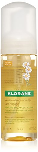 Klorane Mousse with Chamomile - Blond Hair , 5.1 fl. oz.