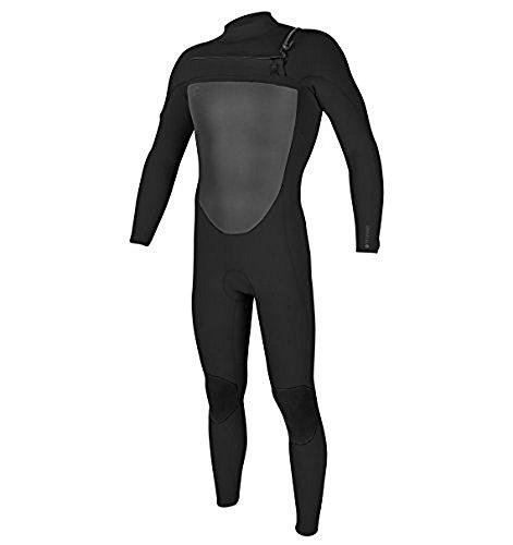 O'Neill Men's O'Riginal 3/2 mm Chest Zip Full Wetsuit, Black/Black, (Original Zip)