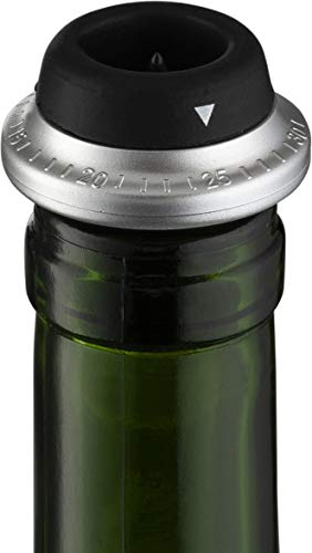 Gourmia 2 in 1 Wine Opener and Preserver set–Electric Corkscrew Rechargeable Wine Bottle Opener and Sealer–Removes Corks,Vacuum Seals and Preserves Wine–Includes Foil Cutter,2 Stoppers,Recharging Base by Gourmia (Image #6)