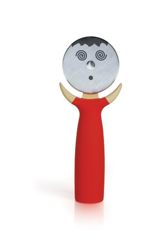 Boston Warehouse Pepper Green Pizza Cutter,Recycled Materials Kitchen Tool by Boston Warehouse