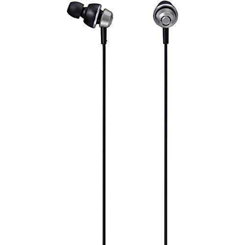 Panasonic drops360° Premium In-Ear Stereo Headphones RP-HJX5-S (Metallic Silver) Powerful Bass