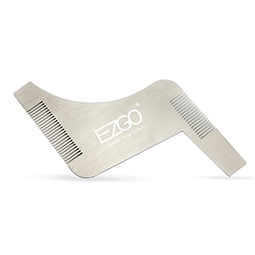 Stainless Steel Beard Shaping Template product image