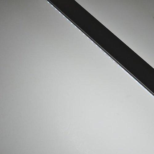 LEDwholesalers Linkable Low Profile Aluminum LED Rigid Strip for Display Case and Under Cabinet Light, 20-Inch, White, 1987WH by LEDwholesalers (Image #4)