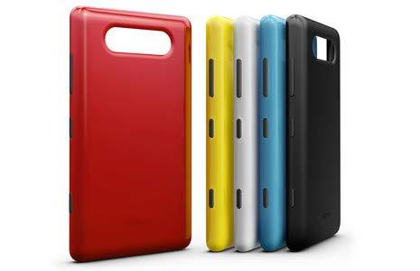 online store fdf2e f007b Back Panel for Nokia Lumia 820: Amazon.in: Electronics