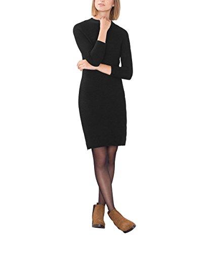 Esprit 096EE1E026, Vestido, Mujer Negro (Black 001)