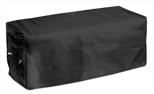 KoverRoos Weathermax 74207 8-Feet Bench Cover, 96-Inch Width by 25-Inch Diameter by 36-Inch Height, Black