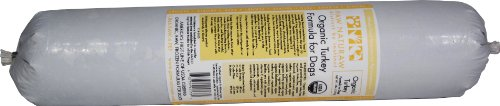 Paw Naturaw Organic Turkey Formula for Dogs, Rolls (Pack of 14)