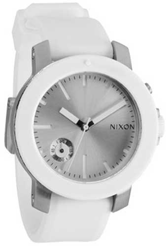 Nixon The Raider Watch - Women's White/Silver, One Size