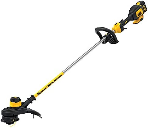 Dewalt DCST920P1R 20V MAX 5.0 Ah Cordless Lithium-Ion Brushless String Trimmer Renewed