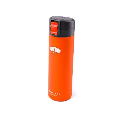 GSI Outdoors MicroLite 720 Flip, Vacuum Bottle, Orange, Supe