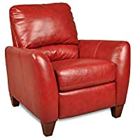 Chelsea Home Furniture Salem Recliner, Como Bold Red
