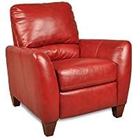 Chelsea Home Furniture Salem Recliner, Como Bold Red