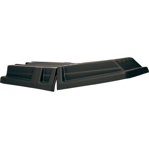 Rubbermaid Commercial 1317BLA Hinged Dome Tilt Truck Lid, 16