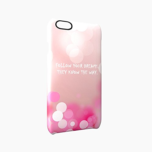 Follow Your Dreams Bowl Glossy Hard Snap-On Protective iPhone 6 Plus + / 6S Plus + Case Cover