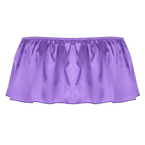 Púrpura Interior Calzoncillos Bikini Hombre Agoky Transpirable Encaje Sissy Para Sexy Ropa Tangas Con Slips Suave 6wvqwF