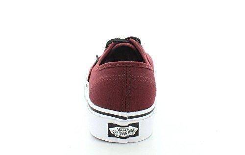 Bestelwagens Authentiek Klassiek Sneaker Skate Canvas Skaterschuhe Port Royale Rood / Zwart