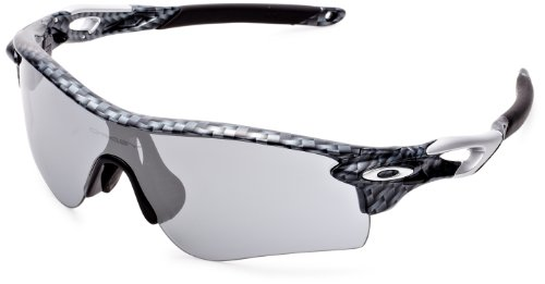 Oakley Men's Radarlock Path (a) Non-Polarized Iridium Wrap Sunglasses, CARBON FIBER, 38 mm ()