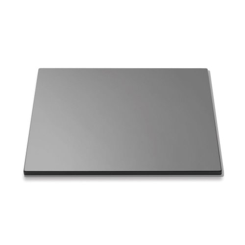 (Rosseto SG001 Square Surface Tempered Glass, 14-Inch, Black)