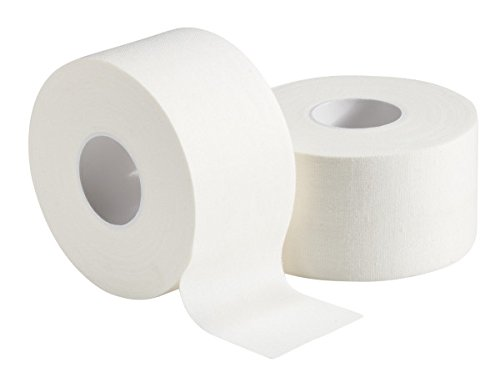 Mueller Athletic Trainer's Tape 1.5'' x 15 yd White Latex Free (Case of 32 Rolls)