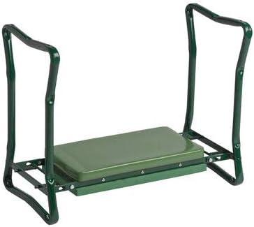 Gardener's Supply Company Extra Wide-seat Repose-genoux de jardin pliante Green