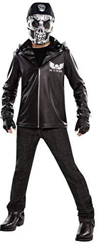 AMSCAN Boys Bad to the Bone Halloween Costume for Boys, Large, with Included Accessories ()