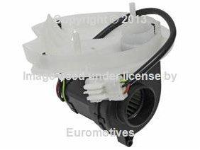 (BMW e46 (A/T) Blower Motor w/ Cover for Control Unit Housing (E-Box Fan))