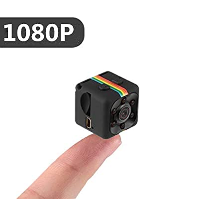 Hidden Camera Mini Spy Camera, TOPCAMS 1080P Portable Camera Home Wireless Spy Cam with Motion Tracking Night Version by TOPCAMS