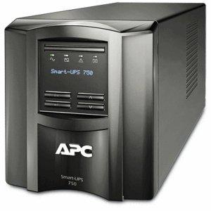 APC SMT750I Smart-UPS 750 LCD - UPS - AC 230 V - 500 Watt - 750 VA - RS-232, USB - output connectors: 6 - black