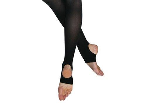 Bloch Women's Endura Stirrup Dance Tights A Black