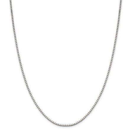 1.9 Mm Wall (Sterling Silver 9in 1.9mm Box Chain Bracelet)