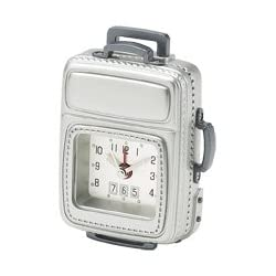 Chass Carry On Luggage Alarm Clock 81118