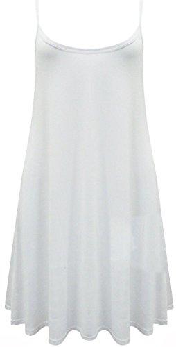 TrendyFashion Blanco Vestido Vestido TrendyFashion Zq4p0w6