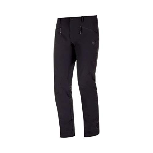 Mammut Macun SO Pants - Mens, Black, US 32/Short, 1021-00210-0001-48-20