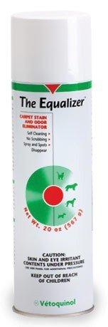 The Equalizer Carpet Stain and Odor Eliminator (20 oz) by Evsco Pharmaceuticals