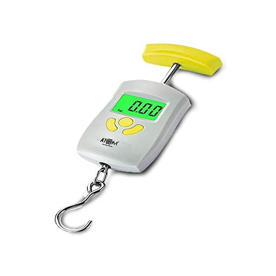 ATOM Selves-A 304 Digital Luggage Weighing Scales with Max Capacity 50 Kg & Min Capacity 10 Gm
