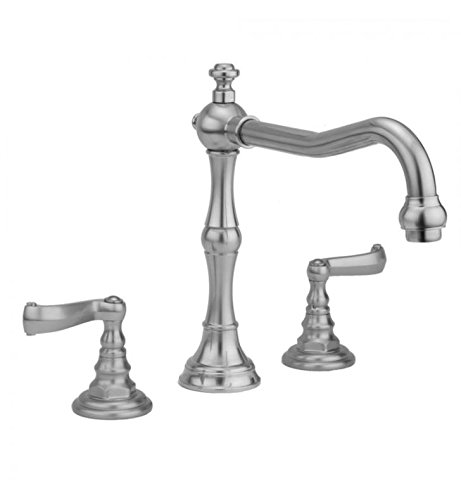 Polished Chrome Standard Plumbing Supply Jaclo 9930-T675-TRIM-PCH Roaring 20s Bathtub Filler with Hex Lever Handles