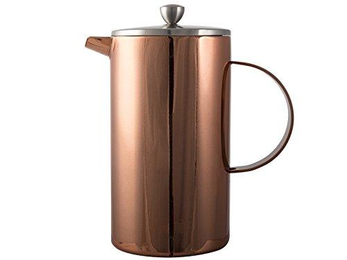 La Cafetière Classic 8-Cup Double Walled Cafetière, 1 L (1¾ pints) - Copper Finish