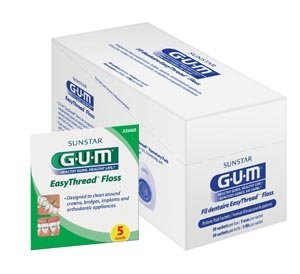 Sunstar 3200D Gum Easy Thread Floss, Patient Sample Pack (Pack of 100) Review