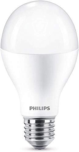 Philips LED Bombilla estándar mate, 18.5W equivalente a 120 W de ...