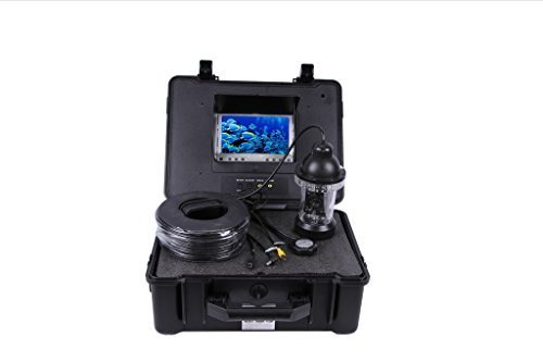 Professional Fish Finder Underwater Fishing Video Camera with 7'' LCD Monitor and 150 Feet Cable by EXP