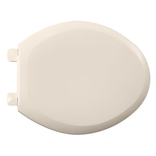 American Standard 5350.110.222 Cadet-3 Elongated Slow Close Toilet Seat with EverClean Surface, (American Standard Linen Faucet)