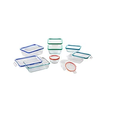 Snapware Total Solutions Glass and Plastic 16 pc Boxed Set